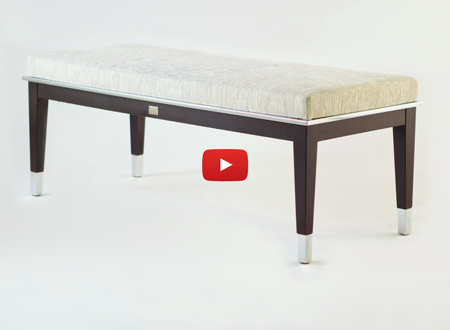 Watch The Lisa Taylor Designs Wood Steel Bench Video